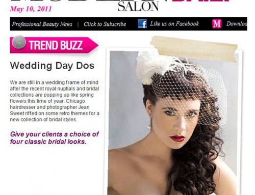 """Wedding Day Dos"" – Published in Modern Salon"
