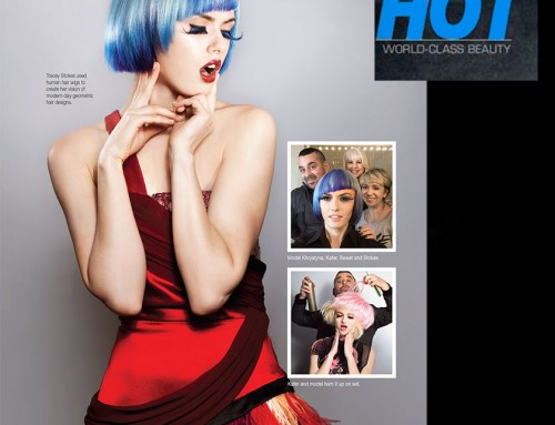"""Pop Rocks"" – Editorial Features Tracey Stokes Gobla's Hair Artistry"